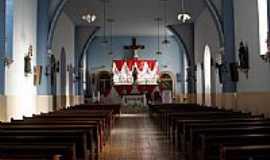 Santa Cruz do Escalvado - Interior da Igreja Matriz de Santa Cruz do Escalvado-MG-Foto:ianobre