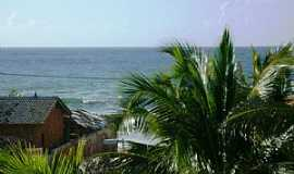 Arembepe - Arembepe-BA-Vista da Praia-Foto:krysstiani