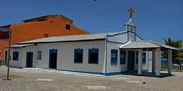 Arembepe-PA-Igreja de São Francisco de Assis-Foto:jaua.com.br