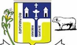 Santa Fé de Minas - Brasão de Santa Fé de Minas-MG