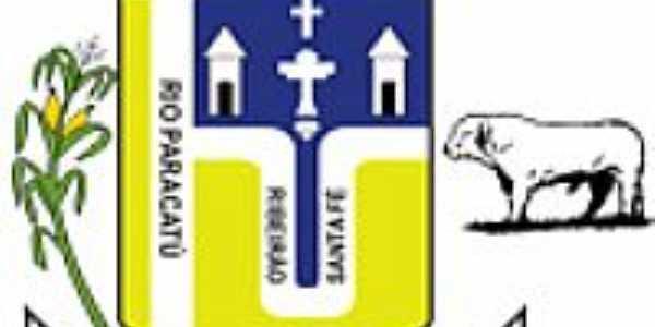Brasão de Santa Fé de Minas-MG