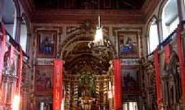 Santa Luzia - Interior da Igreja Matriz-Foto:Gui Torres