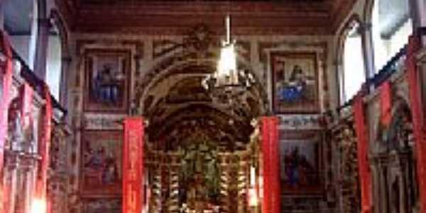 Interior da Igreja Matriz-Foto:Gui Torres