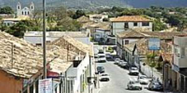 Rua Direita em Santa Luzia-Foto:renato weil