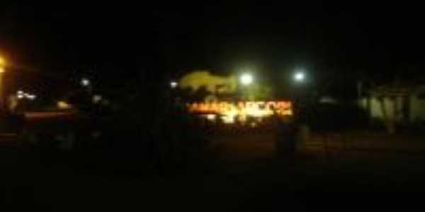 Pç da Matriz a noite do ARGOIM, Por Sos rio Paraguaçu