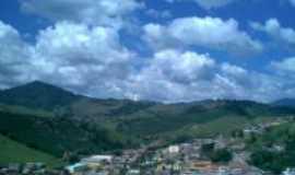 Santa Rita de Minas - O céu e a cidade (vista parcial), Por Olga Simões