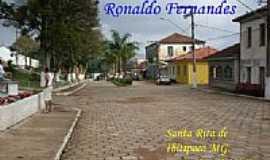 Santa Rita do Ibitipoca - Avenida em Santa Rita do Ibitipoca-MG-Foto:Ronaldo Fernandes Ol…