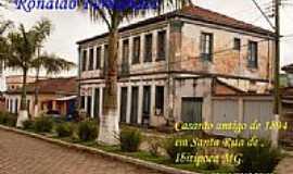Santa Rita do Ibitipoca - Casarão de 1894 em Santa Rita do Ibitipoca-MG-Foto:Ronaldo Fernandes Ol…