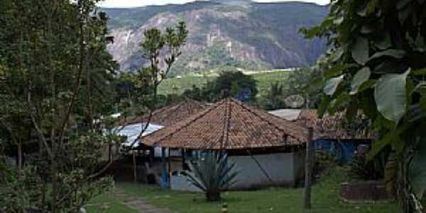 Santa Rita do Itueto-MG-Sede do Parque Aquático-Foto:Tedd Santana