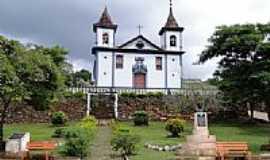 Santa Rita Durão - Praça e Igreja-Foto:Roberta Soriano e Ar…