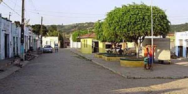 Aribicé-BA-Centro na cidade-Foto:geoview.info