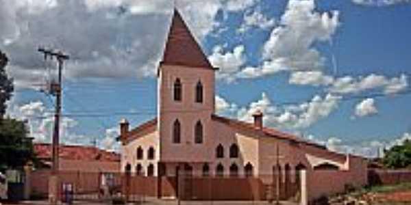 Santa Vitória-MG-Paróquia de São Cristóvão-Foto:Marcos marinho de medeiros