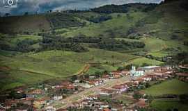 Santana de Caldas - Santana de Caldas-MG-Vista aérea do distrito-Foto:Joelmir Barbosa