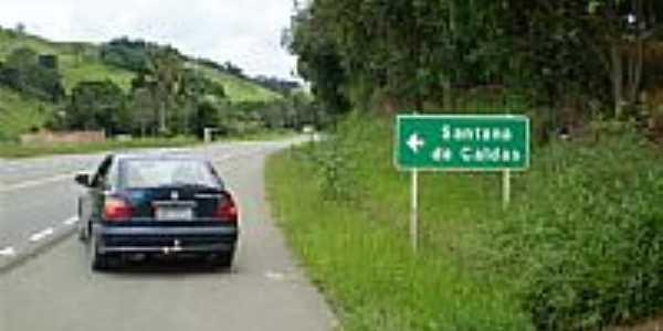 Rodovia em Santana de Caldas-Foto:Eduardo Cardoso Reis…