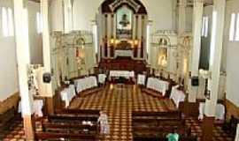 Santana de Patos - Interior da Igreja de Sant´Ana-Foto:Lizandro Júnior