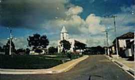 Santana de Patos - Praça e Igreja-Foto:alixandre