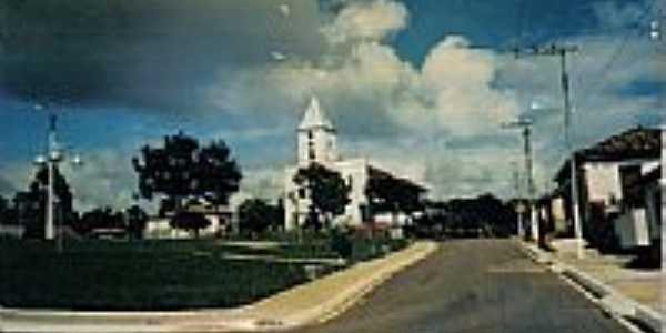 Praça e Igreja-Foto:alixandre