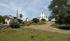 Santana do Capivari - Praça e Igreja-Foto:MICROLARM