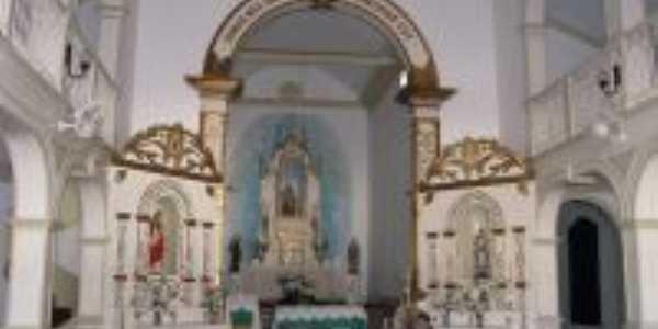 Altar Mor da Igreja de N. S. Santana, Por Jose Jaime