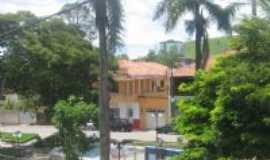 Santana do Jacaré - vista parcial da praça, Por Aloizio Ferreira Freire