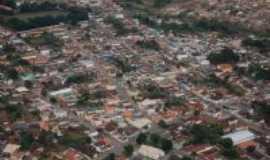 Santana do Jacaré - foto aérea do centro da cidade, Por ailce costa