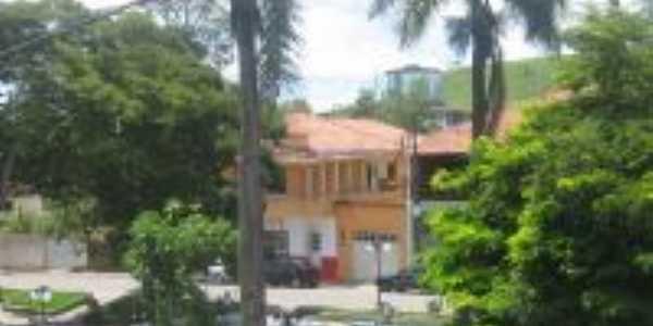 vista parcial da praça, Por Aloizio Ferreira Freire