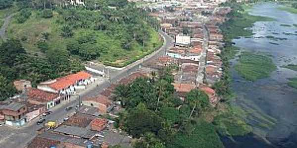 Aurelino Leal-BA-Rio das Contas e a cidade-Foto:www.marauhoje.com.br