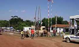 Santo Antônio do Boqueirão - Fogueira sendo erguida-Foto:Mateus Kryszczun Dal…