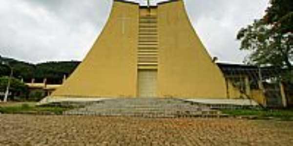 Santo Antônio do Glória-MG-Igreja de Santo Antônio-Foto:sgtrangel