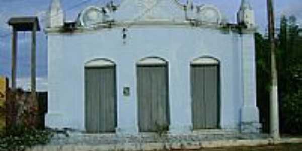 1ª Igreja da cidade,construida em 1931 em Baianópolis-BA-Foto:Geronildo SOUZA