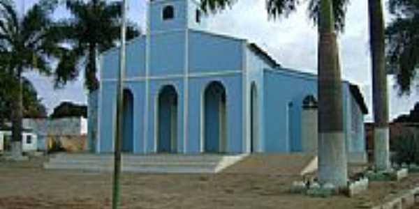 Igreja Matriz de Baianópolis-BA-Foto:Geronildo SOUZA