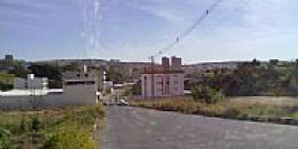 Vista parcial do Bairro Cidade Jardim em Santo Antônio do Monte-MG-Foto:Nilson Antônio da Silva