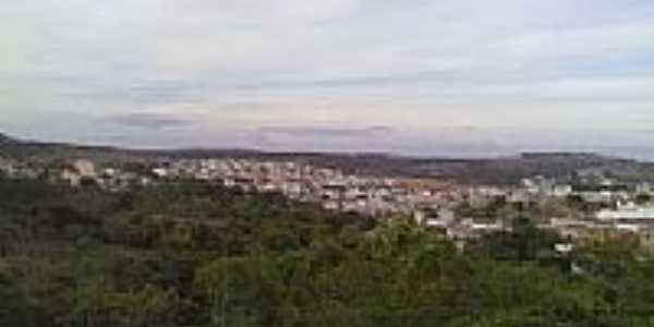 Vista parcial do centro e Bairro N.Sra.de Fátima em Santo Antônio do Monte-MG-Foto:Nilson Antônio da Silva