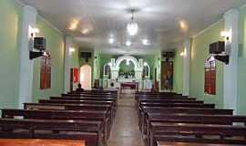 Santo Antônio do Mucuri - Santo Antônio do Mucuri-MG-Interior da Igreja de Santo Antônio-Foto:Júnior Gonçalves