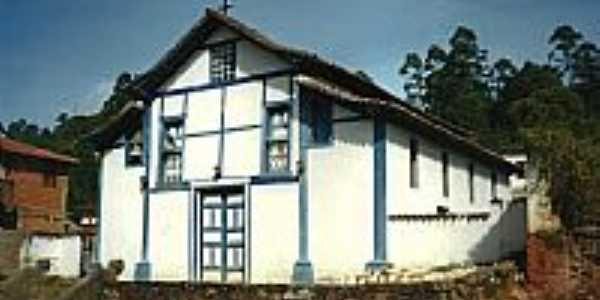 Santo Antônio do Pirapetinga-MG-Igreja do Senhor Bom Jesus de Matosinhos-FotoVicente A. Queiroz