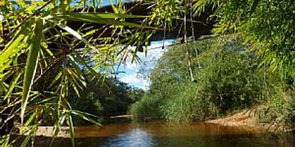 Ponte sobre o Rio Pardinho - Santo Antonio do Retiro MG  - por Oswaldo de Deus