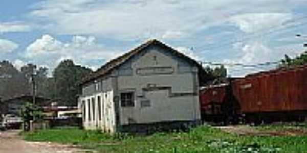 Estação Ferroviária de Santo Antônio dos Campos-Foto:montanha