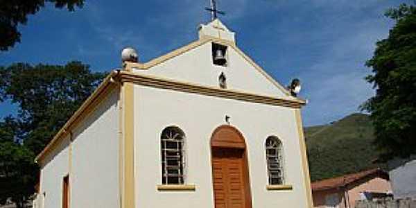 Santo Hilário-MG-Igreja de São Sebastião-Foto:Vicente A. Queiroz