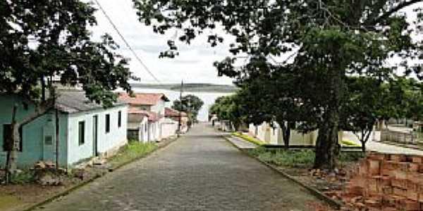 Santo Hilário-MG-Rua do Distrito-Foto:Saulo Teixeira