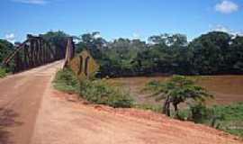 Santo Hipólito - Ponte sobre Rio das Velhas Santo Hipolito-MG  por Raffa Monteiro
