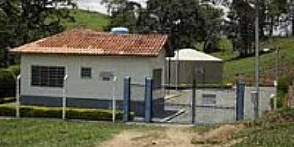 Estação de tratamento de água em São Bento de Caldas-Foto:mfmonteiro