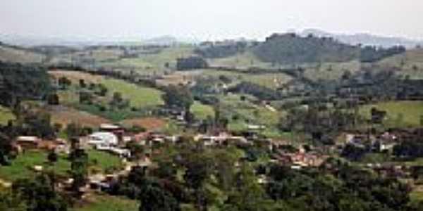 Vista da cidade de São Bento de Caldas-Foto:mfmonteiro