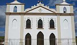 Baixa Grande - Igreja cat�lica da cidade , por Micael