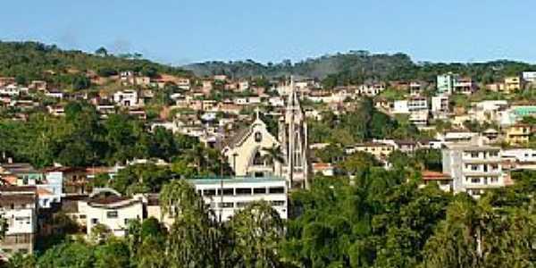 São Domingos do Prata-MG-Vista parcial da cidade-Foto:Sylvio Cleber Videira Cabral