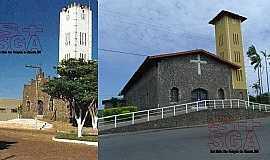 """São Gonçalo do Abaeté - Igreja Matriz """"Paróquia Imaculada Conceição"""" em São Gonçalo do Abaeté"""