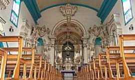 São Gonçalo do Rio Abaixo - Vista do Interior da Igreja Matriz de São Gonçalo-Foto:Mauricio_veiga