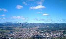 S�o Gon�alo do Sapuca� - Vista da cidade pelo Cruzeiro