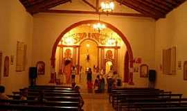 São João das Missões - São João das Missões-MG-Interior da Igreja de São João Batista-Foto:gibasanjuan