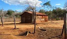 São João das Missões - São João das Missões-MG-Moradia na Reserva Indígena Xacriabá-Foto:gibasanjuan