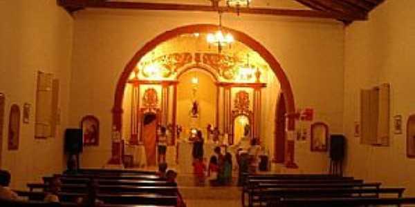 São João das Missões-MG-Interior da Igreja de São João Batista-Foto:gibasanjuan